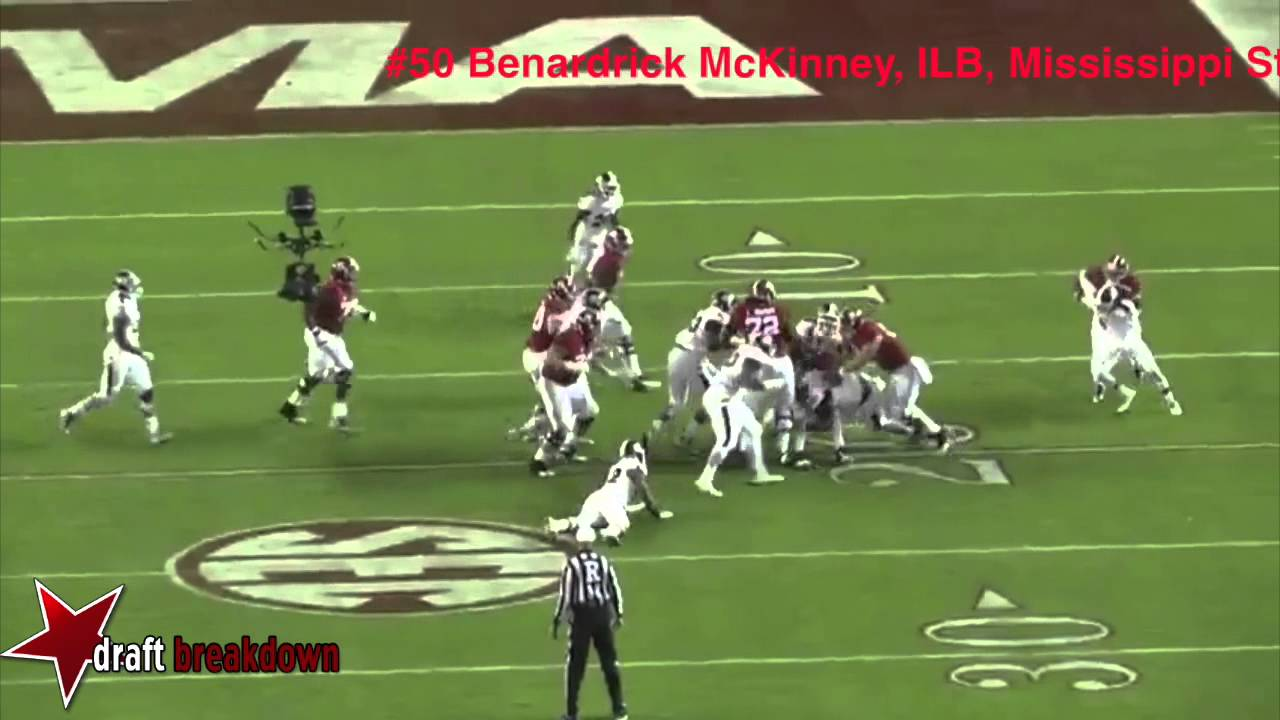 Benardrick McKinney vs Alabama [All-22] (2014)