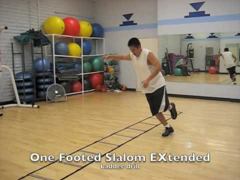 Agility Training Ladder Drills for Speed and Quickness
