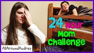 24 Hour Overnight Mom Challenge / AllAroundAudrey
