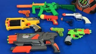 Box of Toys Toy Guns NERF Guns Non Nerf Toy Pistols