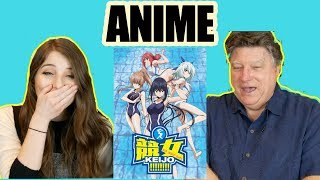 MY FAMILY REACTS TO ANIME (Keijo)... MUST WATCH