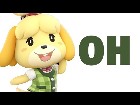 Alax Reacts to Isabelle... in Smash Ultimate