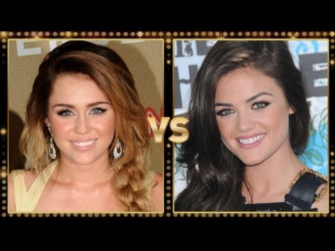 Miley Cyrus Vs. Lucy Hale: Round 1