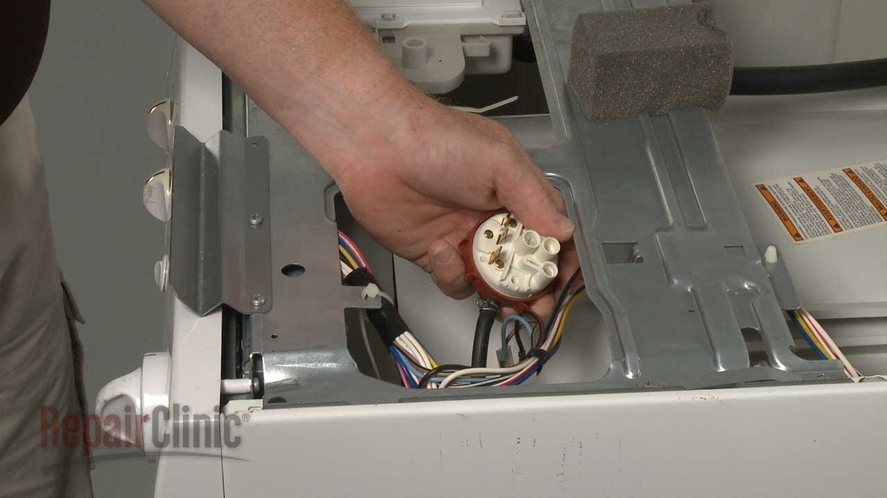 Washer pressure switch replacement frigidaire front load