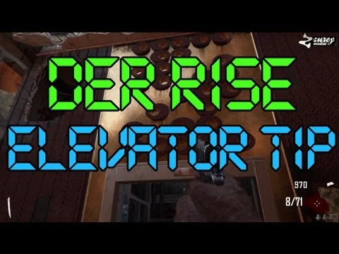DIE RISE - How to use the spawn elevator more than one time (Black Ops 2)