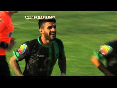 San Martín le ganó a un desorientado Argentinos Juniors en Concepción