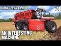 TAKE A LOOK AT THIS BEAST  | Lone Oak Farm | Farming Simulator 17 | #24