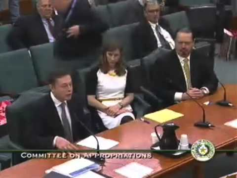 House Appropriations - Elon Musk, SpaceX - March 8, 2013