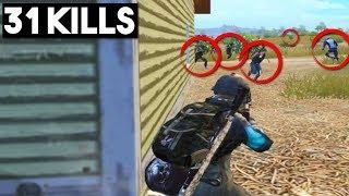 TWO SQUADS PUSHED ME!   31 KILLS Solo vs Squad   PUBG Mobile