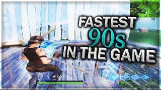 Here's how to do the fastest 90s in Fortnite