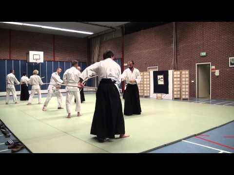 Aikido Yuishinkai Alkmaar training 13-01-2014 Image 1