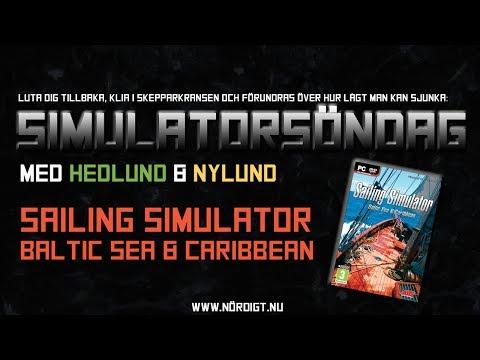 Simulatorsöndag: Sailing Simulator - Baltic & Caribbean