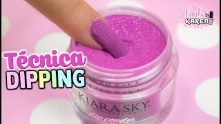 DIP POWDER NAILS | Técnica Dipping