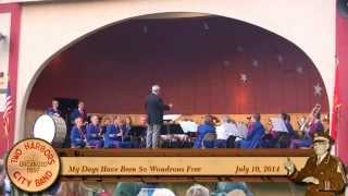 """My Days Have Been So Wondrous Free"" Two Harbors City Band 