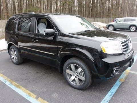 2011 Honda Pilot Touring 4wd Start Up Engine And In