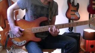 Session 1# - Prayer in C bass cover (adaptation)