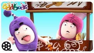 Oddbods - FOOD FAMISHED | Funny Cartoons For Kids | Oddbods & Friends