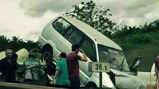 15 cedera nahas 5 kereta di Kulai