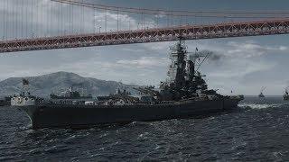 Man in the High Castle S03 Yamato class battleship scenes