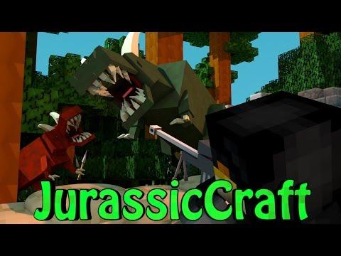 Minecraft Dinosaurs Jurassic Craft Modded Survival Ep 18 DINOSAUR EGGS