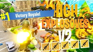 Fortnite Playing high Explosive's