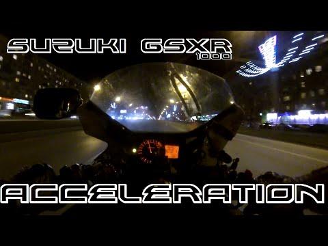 Suzuki GSX-R Acceleration