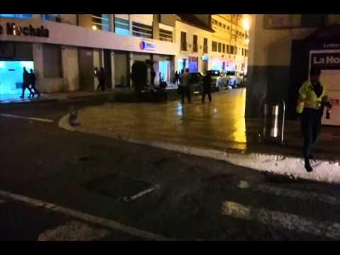 Loja Ecuador: El Centro, Day and Night