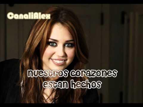 Miley Cyrus - Miley Cyrus - Forgiveness and Love (en espa�ol sin modificaci�n de audio)
