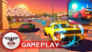 HORIZON CHASE official HD GAMEPLAY iOS - ANDROID