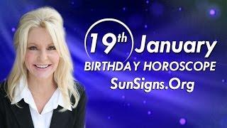 Birthday January 19th Horoscope Personality Zodiac Sign Capricorn Astrology