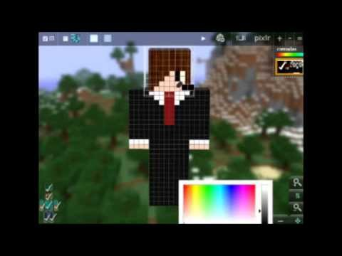 hahaha nova skin do minecraft no canal