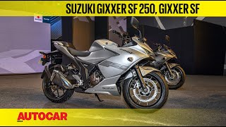 Suzuki Gixxer SF 250 & Gixxer SF Launch | Price, First Look & Walkaround | Autocar India