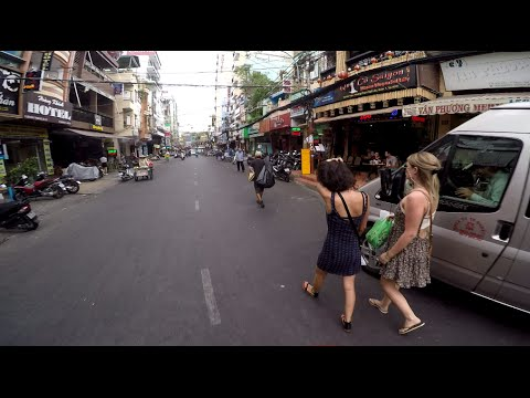 Bui Vien Street, Ho chi minh city, District 1
