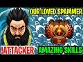 Our Loved Kunkka Spammer And His Amazing Skills! - The Best Kunkka !Attacker 7.17 - Dota 2