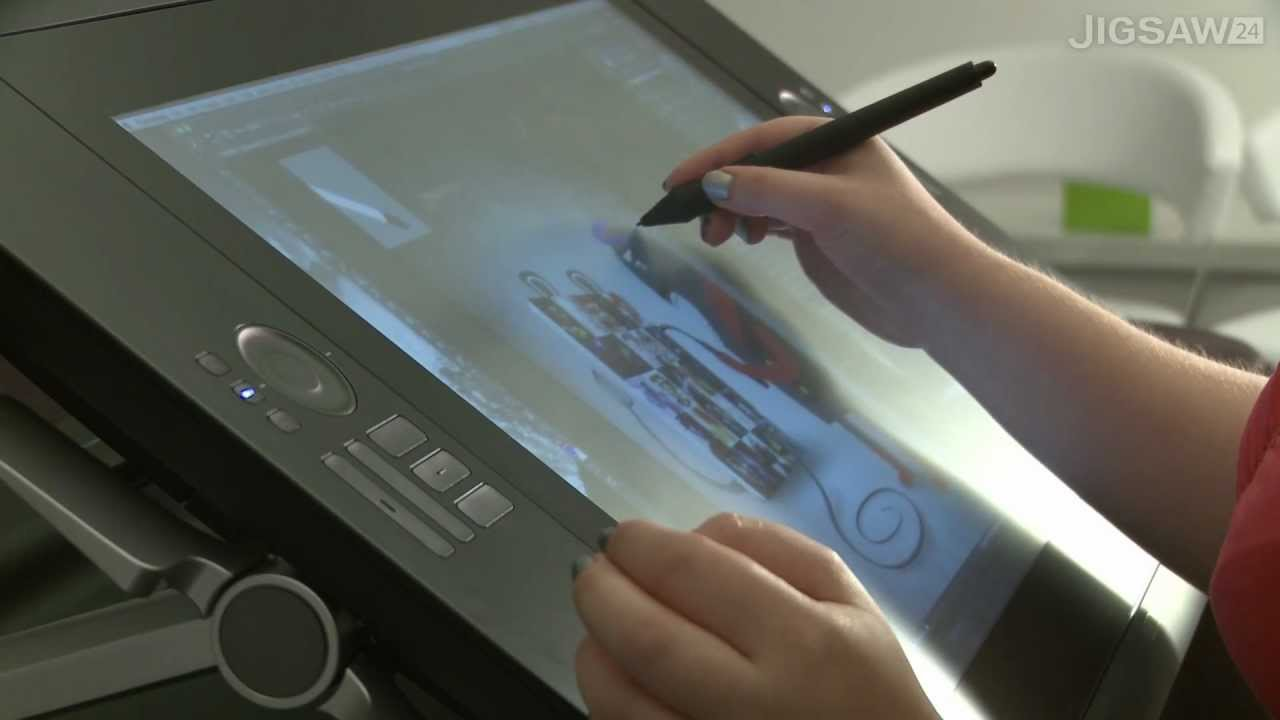 Cintiq 24hd Drawing First Look Wacom Cintiq 24hd