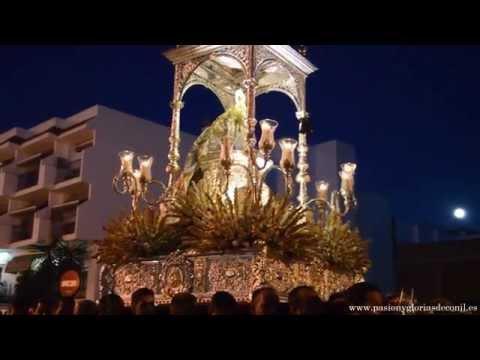 Virgen de las Virtudes por calle Carretera - Conil de la Frontera 8 de septiembre 2014
