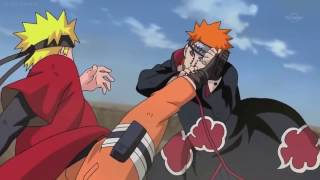 Naruto vs Pain AMV (FLOW - Sign)