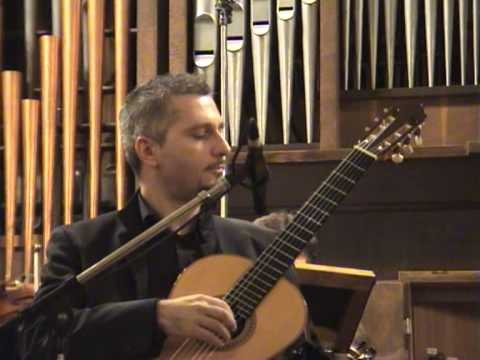2° Concerto in Do (C), op. 160 for guitar by Mario Castelnuovo-Tedesco played by Johan Fostier