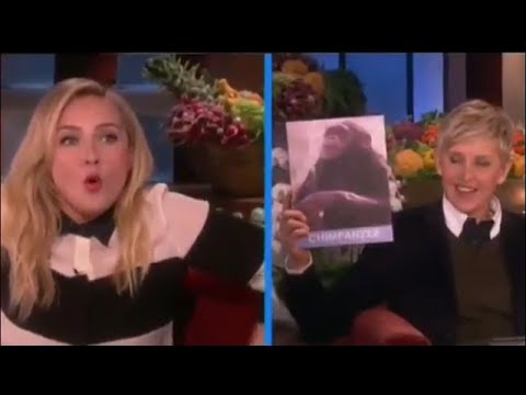 Hayden Panettiere's Animal Noises on ellen show