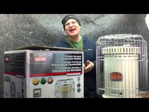 Dyna glo 23 000 BTU Portable Kerosene Convection Heater Review