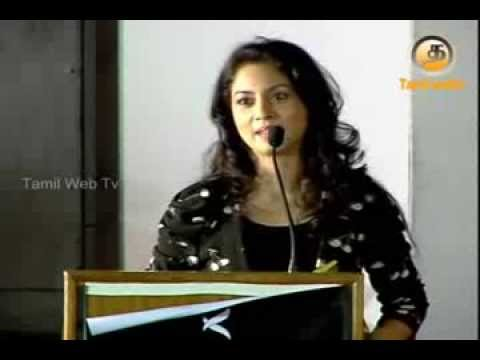 Actress Pooja Jolly Speech At Vidiyum Mun Movie Audio Launch video