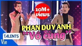 """Trấn Thành Liên Tục Nổi Da Gà Khi Nghe Phan Duy Anh Live Siêu Hit """"Vô Cùng"""" l VieTalents Official"""