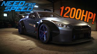 Need for Speed 2015 1200HP Liberty Walk R35 GT-R! FASTEST CAR IN THE GAME?!