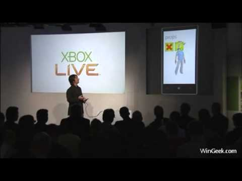 XBOX Live + Games on Windows Phone 7