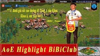 AoE Highlight BiBiClub || Tiểu Màn Thầu và Tuyệt Kĩ Đẩy Cung A Minoan