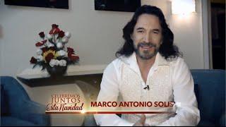 Marco Antonio Solis Video - Mensaje navideño de Marco Antonio Solís a todos sus fans