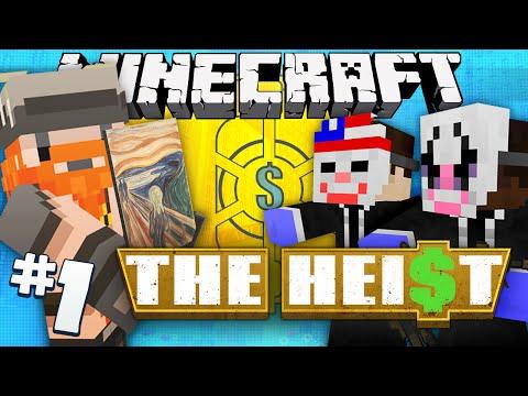 Minecraft - The Heist #1 - Art Attack (payday 2 Adventure Map) video