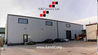 K&D Joinery | 18,000 ft2 Factory Expansion Time-lapse
