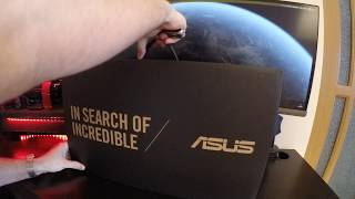 Asus Zenbook Pro UX550 Unboxing and Review