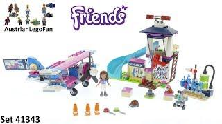 Lego Friends 41343 Heartlake City Airplane Tour - Lego Speed Build Review
